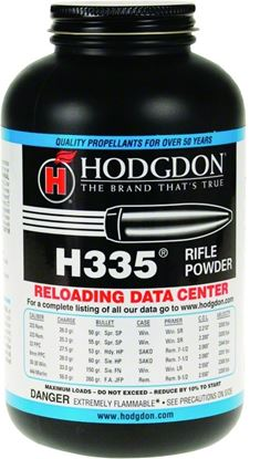 Picture of Hodgdon 3351 H335 Smokeless Rifle Powder 1Lb Can State Laws Apply
