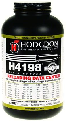 Picture of Hodgdon 41981 H4198 Extreme Smokeless Rifle Powder 1Lb Can State Laws Apply