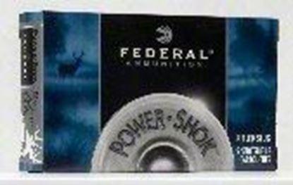 Picture of Federal F130-RS Power-Shok Rifled Slugs 12 GA, 2-3/4 in, 1-1/4oz, 1520 fps, 5 Rnd per Box