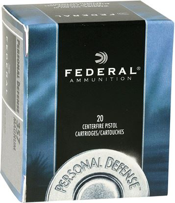 Picture of Federal P10HS1 Premium Personal Defense Pistol Ammo 10MM, Hydra-Shok JHP, 180 Gr, 1030 fps, 20 Rnd, Boxed