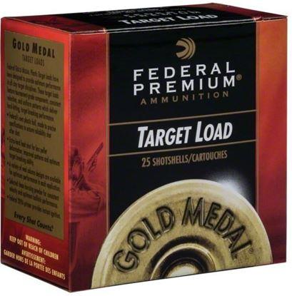 "Picture of Federal GMT115-8 Gold Medal Grand Plastic Shotshell 12 GA 2 3/4"" 2 3/4De 1 1/8oz 8 1,145 Fps, 25 Rnd per Box"