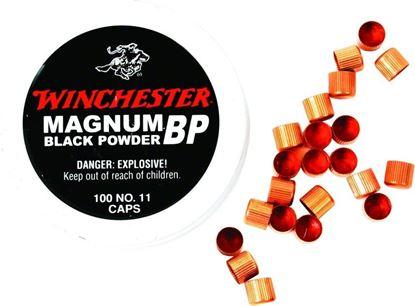 Picture of Winchester SML11 Magnum Black Powder Percussion Caps No 11, 100 pk