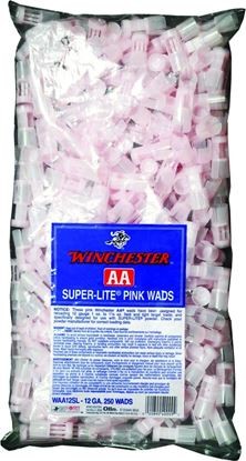 Picture of Winchester WAA12SL Shotshell Wads 12 GA Pink 1 To 1-1/8oz