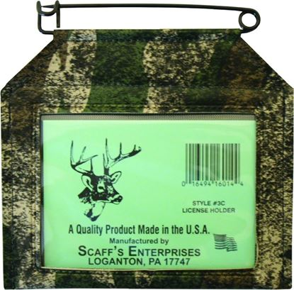 Picture of Scaffs Hunting & Fishing License Holders