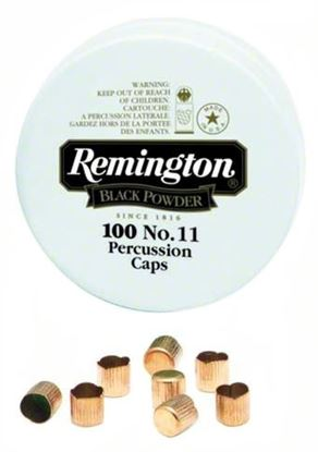 Picture of Remington 22617 #10 Blk Powder Percussion Cap 100Tin