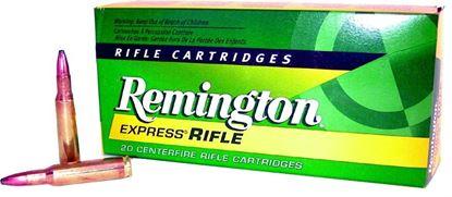 Picture of Remington R222R1 Standard Rifle Ammo 222 REM, PSP, 50 Grains, 3140 fps, 20, Boxed