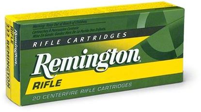 Picture of Remington R243W1 Standard Rifle Ammo 243 WIN, PSP, 80 Grains, 3350 fps, 20, Boxed