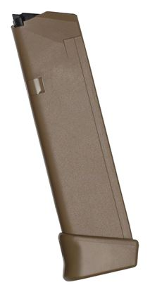 Picture of Glock 47488 Extra Magazine G17 9MM 19 rd Coyote Fits G19X