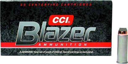 Picture of CCI 3564 Blazer Centerfire Pistol Ammo 44 Mag 240Gr 50Rnd JHP Blazer
