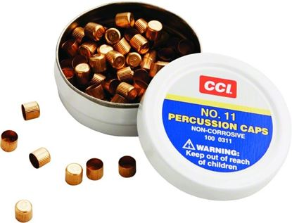 Picture of CCI 0311 Percussion Cap #11 100Bx/Pk 10 Tins/Case