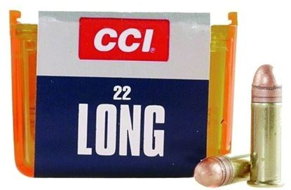 Picture of CCI 0029 22 Long HV Rimfire Ammo, CPRN, 29 Grains, 1215 fps, 100 Rounds, Boxed