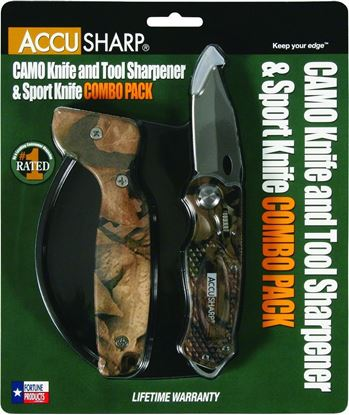 Picture of AccuSharp Camo Knife/Tool Sharpener & Sport Knife