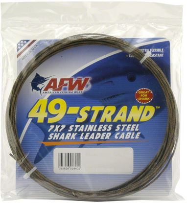 Picture of AFW 49 Strand Stainless Shark Leader Cable