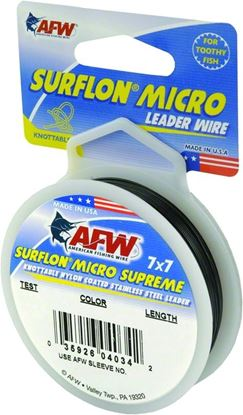 Picture of AFW Surflon MicroSupreme Nylon Coated Stainless Leader Wire