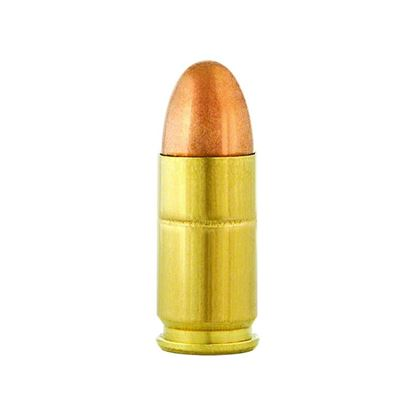 Picture of Aguila 1E092110 Centerfire Pistol Ammo, 9MM Fmj 124Gr, 50 Rnd