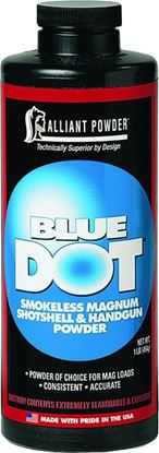 Picture of Alliant BLUEDOT Smokeless Magnum Shotshell/Handgun Powder 1 Lb State Laws Apply