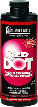 Picture of Alliant RED DOT Smokeless Clay Target Shotgun Powder 1 Lb State Laws Apply