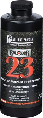 Picture of Alliant RELODER 23 Smokeless Magnum Rifle Powder 1 Lb State Laws Apply