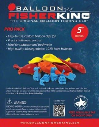 Picture of Balloon Fisher King Pro Pack Multi-Clip With Balloons