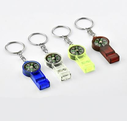 Picture of Anglers Choice Compass/ Whistle P.O.P Kit