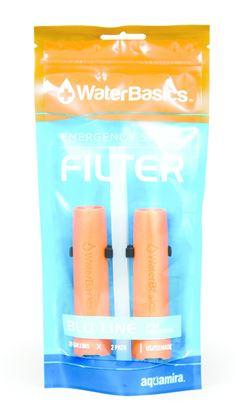 Picture of Aquamira Waterbasics Emergency Straw Filter