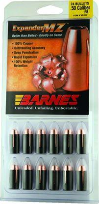 Picture of Barnes 30583 Muzzleloader Bullets 50Cal 300Gr MZ FB w/Sabots Per 24