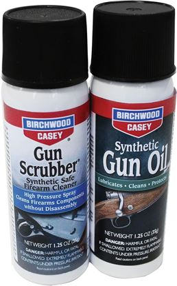 Picture of Birchwood Casey Gun Scrubber & Synthetic Gun Oil