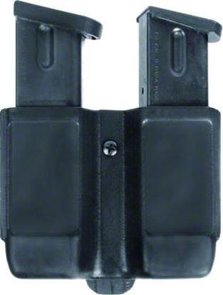 Picture of Blackhawk 410610PBK CQC Double Magazine Pouch Double Stack Matte Finish, 9 mm/.40 Cal/.45 Cal