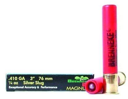 Picture of Brenneke SL-4103M Magnum Rifled Slugs 410 GA, 3 in, 1/4oz, 1755 fps, 5 Rnd per Box