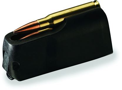 Picture of Browning 112044607 X-Bolt Extra Magazine 6.5 Creedmoor 4rd Rotary Polymer