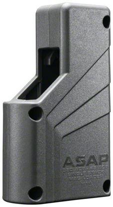 Picture of Butler Creek BCA1XSML ASAP Magazine Loader, Grey, Universal Single Stack, 9mm-45ACP, Box