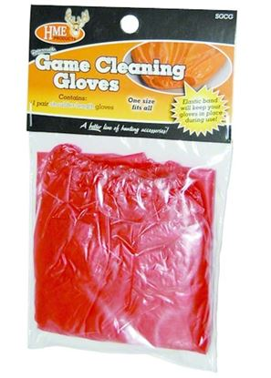 Picture of HME Disposable Game Cleaning Gloves