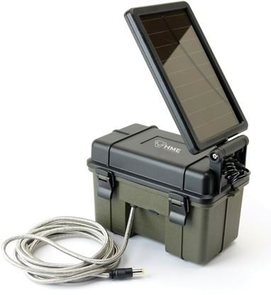 Picture of HME HME-12VBBSLR Trail Camera 12V / Solar Auxiliary Power Pack