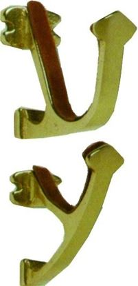 Picture of Hoppes Solid Brass Gun Display Hangers