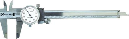 Picture of Hornady 050075 Stainless Steel Dial Caliper, 4-Way Measurement, Locking Slide