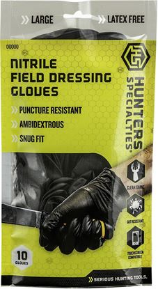 Picture of Hunters Specialties Nitrile Field Dressing Gloves