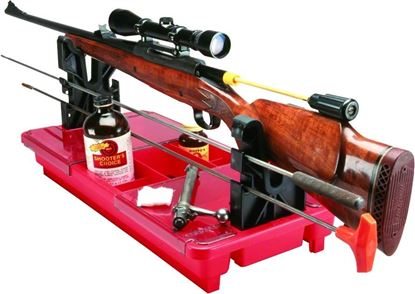 "Picture of MTM RMC-1-30 Portable Rifle/Shotgun Maintenance Center, 23-1/4""x11""x3-1/2"", Red"