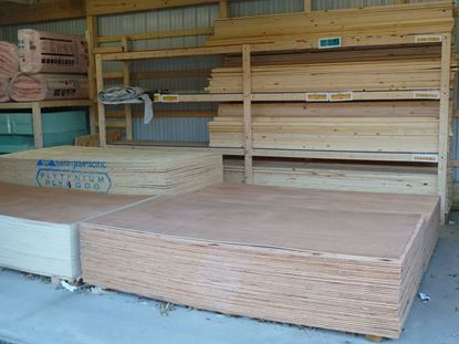 """Picture of 3/4"""" (23/32) CDX Plywood 4' x 8'"""