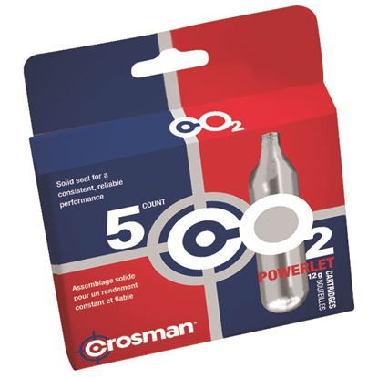 Picture of Crosman CO2 Powerlet Cartridge