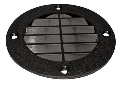 Picture of THMA VENT CVR LOUVERED BK