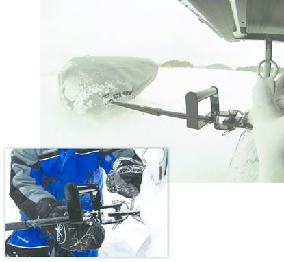 Picture of Clam Universal Extra Hitch Mount