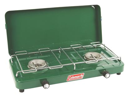 Picture of Coleman 2 Burner Basic Propane Stove With Lid