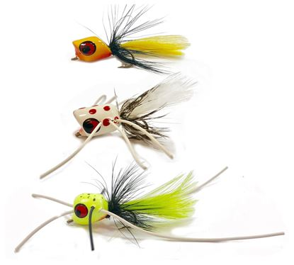 Picture of Betts P3 Panfish Popper Assorted 3
