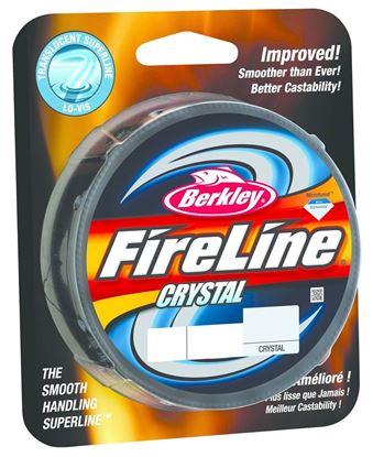 Picture of Berkley BFLFS10-CY FireLine Fused Crystal Braided Line 10lb/4 125yd Filler Spool