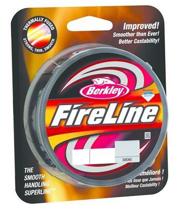 Picture of Berkley BFLFS14-42 FireLine Fused Original Braided Line 14lb/6 125yd Filler Spool Smoke (121448)