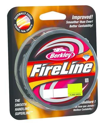 Picture of Berkley BFLFS8-GG FireLine Fused Original Braided Line 8lb/3 125yd Filler Spool Flame Green