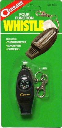 Picture of Coghlans 0044 Whistle 4-Function (514117)