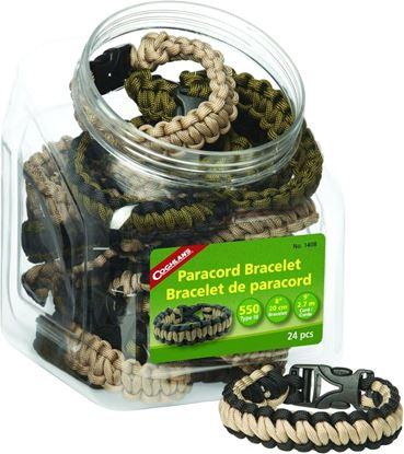 Picture of Coghlans 1408 Paracord Bracelets 24Pc Bowl (119781)