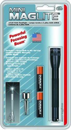 Picture of Maglite M3A016 Mini Mini AAA Flashlight Pocket Clip