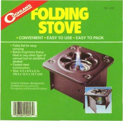 Picture of Coghlans 9957 Stove Folding (514125)